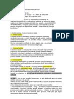 Processo Cautelar e Procedimentos Especiais