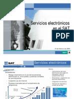 Servicios Electronicos en el SAT