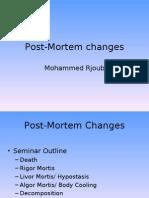 1 - Post-Mortem Changes Part1