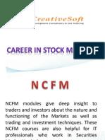 NCFM Seminar