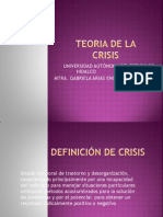 Teoria de La Crisis