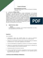 Programa Biologia Seccion 02 2013