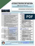 Federation 2013 Sponsorship Opportunities, Nov. 8-10, 2013 in Los Angeles, CA