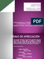 ARTES VISUALES III.ppt