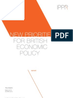 New Priorities for British Economic Policy