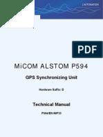 GPS Synchronizing Unit_TM P594