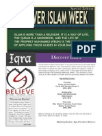Discover Islam Week- Special Edition Iqra