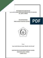 Panduan Han Ra Mi Jatim 20121