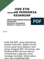 Kode Etik BPK