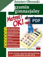 TUTOR - Obremski - Matma OK Egzamin Gimnazjalny 2013 2014 10 s