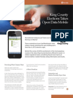 King County Elections Take Open Data Mobile