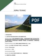 Memoriu Puz - Construire Parc Fotovoltaic
