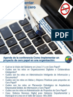 MVLS - MINTIC GEL - Seminario Internacional Cero Papel 2012 - Como implementar un proyecto de cero papel en una organización VF - Resumen