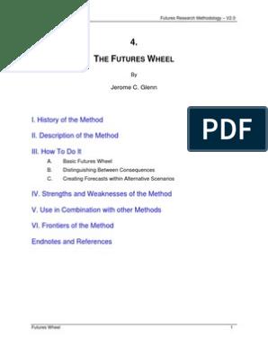 04 Futures Wheel Causality Brainstorming