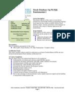 ORA11g101v1-Oracle Database 11g PL SQL Fundamentals I