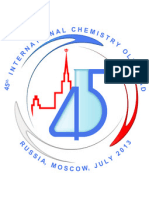 Preparatory Problems International Chemistry Olympiad 2013