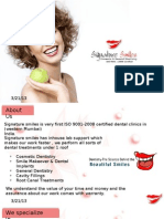 Welcome to Signature Smiles Dental Clinic Pvt. Ltd.