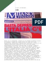 Massimo Caputi Feidos sottoscrive manifesto degli imprenditori italiani - BASTA DEPRESSIONE