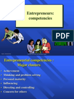 3. Competencies of Entrepreneur