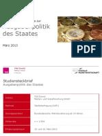 INSM - Ausgabenpolitik Des Staates - Druckversion Teil a (3.1)