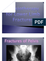 Physiotherapy for Lower Limb Fractures