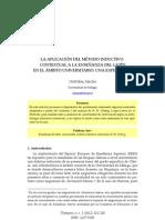 La aplicación del método inductivo-contextual a la enseñanza del latín en el ámbito universitario