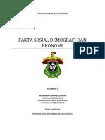 Fakta Sosial Demografi Dan Ekonomi
