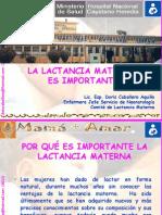Sensivilizacion en Lactancia- 2011.