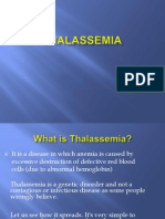 Prevention of Thalassemia