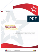 Observatorio Socialista, Nº 10, noviembre 2008
