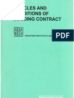 SIA Articles and Conditions of Building Contract