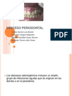 Absceso Periodontal