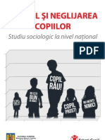 Salvati_Copiii-Studiu - Abuzul Si Neglijarea Copiilor