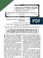 1919_Narcotic Drug Addiction_A Public Health Problem_8p