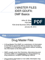 Final_GDUFA DMFs for Small Business Webinar 12813