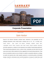 Ranbaxy Corporate Presentation