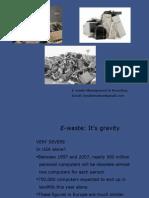 E Waste management