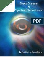 SLEEP, DREAMS AND SPIRITUAL REFLECTIONS