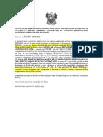 NOTIFICAÇÃO ADMINISTRATIVA PARA ADOÇÃO DE PROVIDÊNCIAS REFERENTE AO CONTRATO N CONSTRUÇÃO DE CISTERNAS EM MUNICÍPIOS DO ESTADO RN