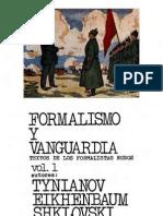 Formalismo y Vanguardia