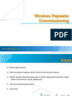 Wireless Repeater Commissioning