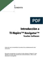 TI-Nspire Navigator Getting Started ES
