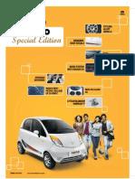 Nano Special Edition Brochure