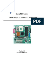 km2m combo motherboard manual