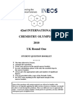 2010 Round I Paper _tcm18-182472.pdf 42nd International Chemistry Olympiad 2010