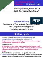 Dr. Phillipson Plenary