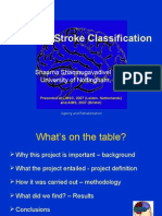 Teaching Stroke Classification
