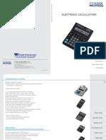 Citizen Calculators Catalog 2013