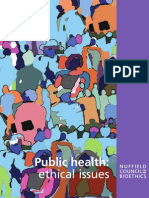 Public Health - Ethical Issues