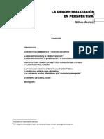 ASSIES Willem - La Descentralizacion en Perspectiva